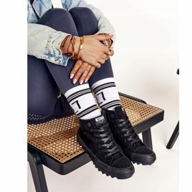 Women's High Sneakers Big Star FF274244 Black 1