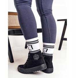 Women's High Sneakers Big Star FF274244 Black 4