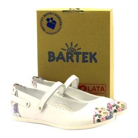 Ballerinas girls flowers Bartek white multicolored 4