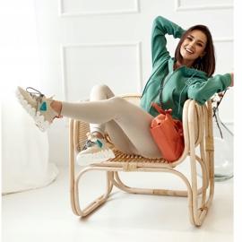 PS1 Women's Sports Socks Beige Fashion Pioneer brown 3