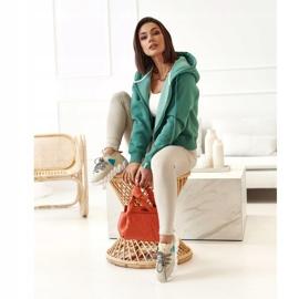 PS1 Women's Sports Socks Beige Fashion Pioneer brown 1