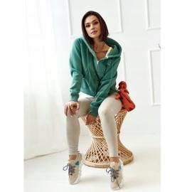 PS1 Women's Sports Socks Beige Fashion Pioneer brown 2
