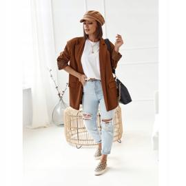 Women's Logged Sneakers Slip-On Khaki Challenge beige brown 3