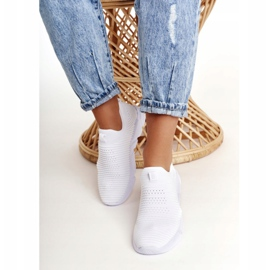 Women's Sport Shoes Slip-on Big Star DD274460 White 4