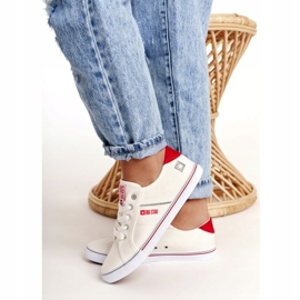 Women's sneakers Big Star DD274892 White-Red 6
