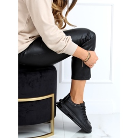 Black women's sneakers SC36 All Black 3