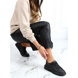 Black women's sneakers SC36 All Black 2