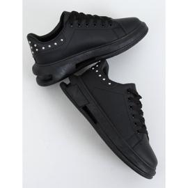 Black women's sneakers SC36 All Black 4