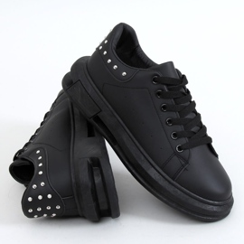 Black women's sneakers SC36 All Black 5