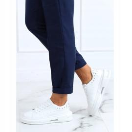 White women's sneakers SC36 White 2
