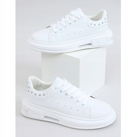 White women's sneakers SC36 White 4