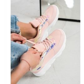 SHELOVET Classic Powder Sneakers pink 4