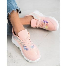 SHELOVET Classic Powder Sneakers pink 3