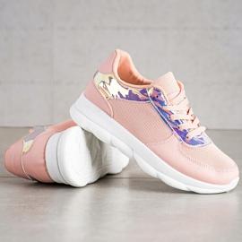 SHELOVET Classic Powder Sneakers pink 1