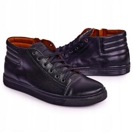 Bednarek Polish Shoes Men's Leather Shoes Sneakers Bednarek Black 5
