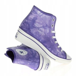 Converse Chuck Taylor Side W 542469F white violet 1