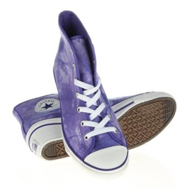 Converse Chuck Taylor Side W 542469F white violet 2