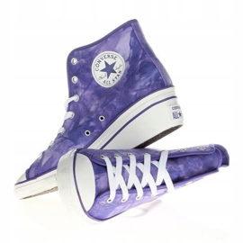 Converse Chuck Taylor Side W 542469F white violet 4