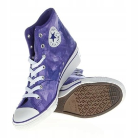 Converse Chuck Taylor Side W 542469F white violet 5