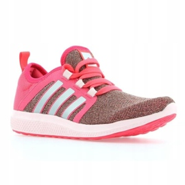 Adidas Fresh Bounce W AQ7794 shoes pink multicolored 1