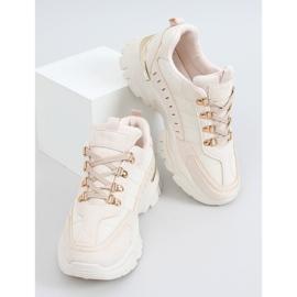 Beige sports shoes VL131P Beige 3