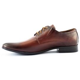 Lukas 256 brown men's formal shoes 1