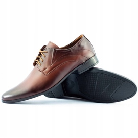 Lukas 256 brown men's formal shoes 3
