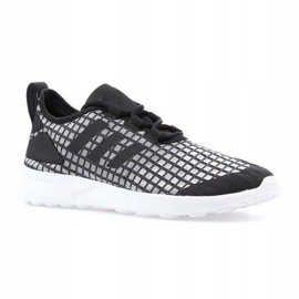Adidas Zx Flux Adv Verve W AQ3340 shoes black grey 1