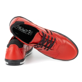 Polbut Casual men's shoes 1801L red with black 6