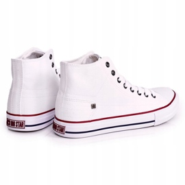 Men's Classic High-top Sneakers Big Star DD174251 White 1