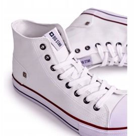Men's Classic High-top Sneakers Big Star DD174251 White 4