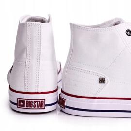 Men's Classic High-top Sneakers Big Star DD174251 White 5