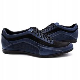 Polbut Men's casual shoes 2101P navy blue 5