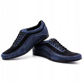 Polbut Men's casual shoes 2101P navy blue 6