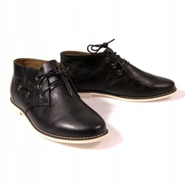 High Lace-Up Shoes TL8900 Black 2