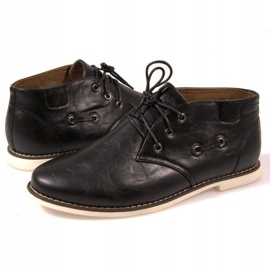 High Lace-Up Shoes TL8900 Black 3