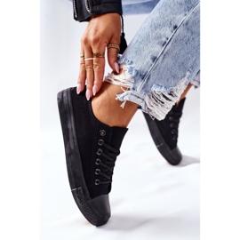 PS1 Women's Classic Black Omerta Sneakers 3