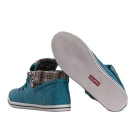 High Sneakers Konwers DD52 Blue 3