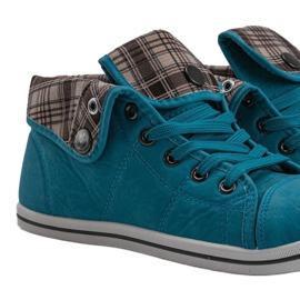 High Sneakers Konwers DD52 Blue 4