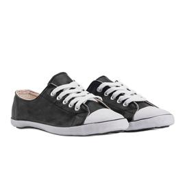Classic Sneakers Material D-3 Black 2