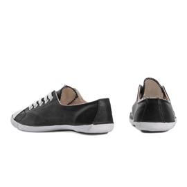 Classic Sneakers Material D-3 Black 3