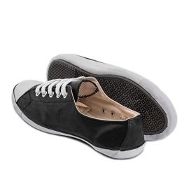 Classic Sneakers Material D-3 Black 4