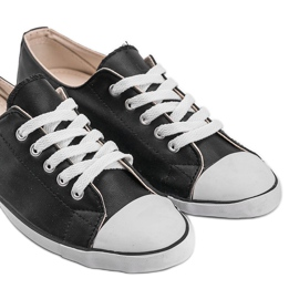 Classic Sneakers Material D-3 Black 5