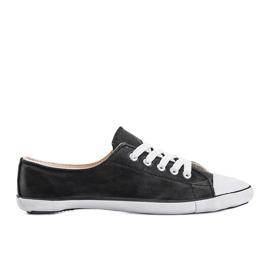 Classic Sneakers Material D-3 Black 1