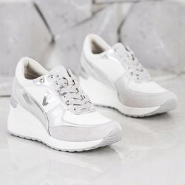 VINCEZA Wedge Sneakers white 2