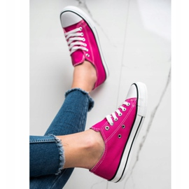 J. Star Classic Fuchsia Sneakers pink 4