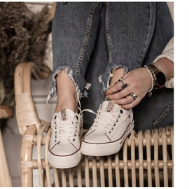 Women's Sneakers Big Star White GG274140 7