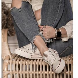 Women's Sneakers Big Star White GG274140 8