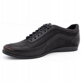 Polbut Casual men's shoes 2101P kabir black 4