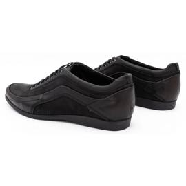 Polbut Casual men's shoes 2101P kabir black 2